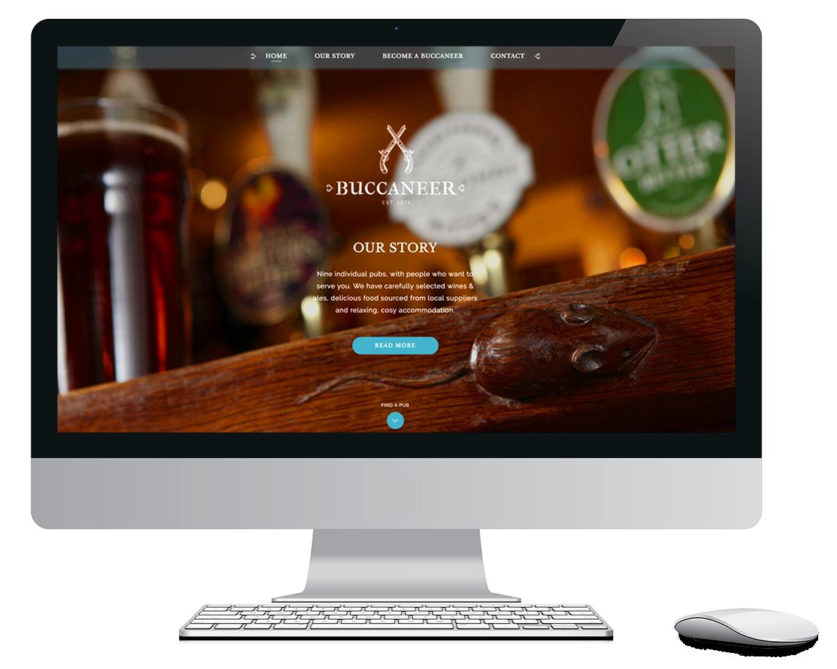 Buccaneer Website